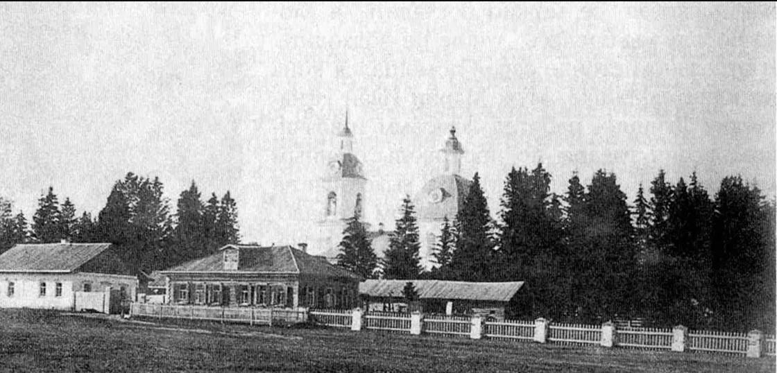 Богословское кладбище и церковь