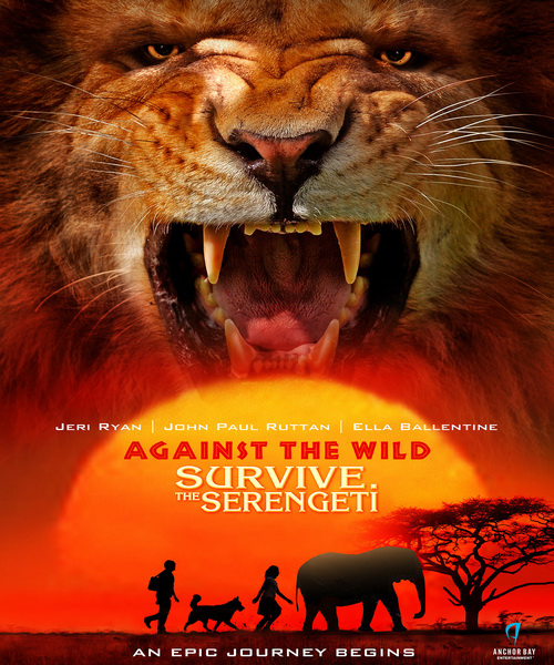 Против природы 2: выжить в Серенгети / Against the Wild 2: Survive the Serengeti (2016/WEB-DLRip)