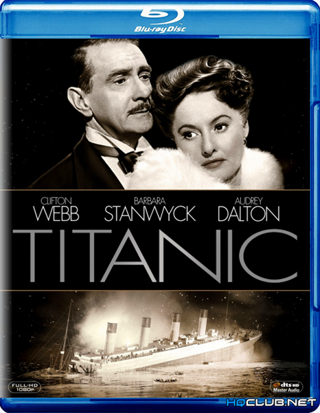 Титаник / Titanic (1953/HDRip)