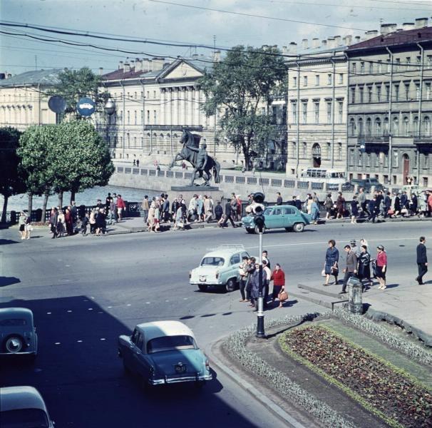 1960е Аничков мост. Тарасевич1.jpg