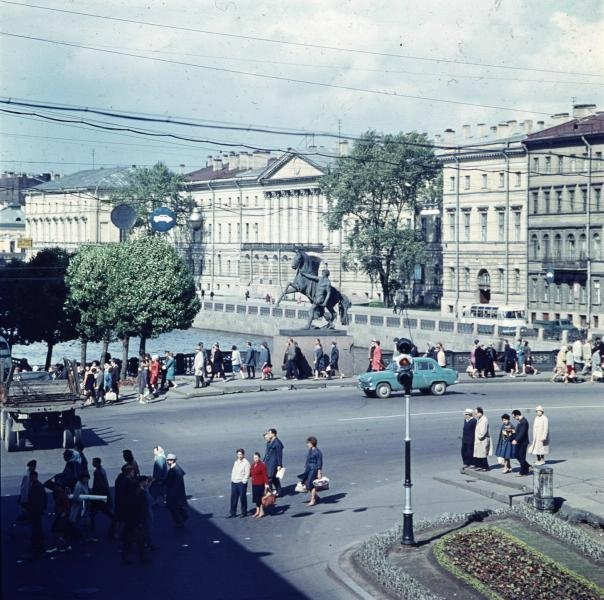 1960е Аничков мост. Тарасевич2.jpg