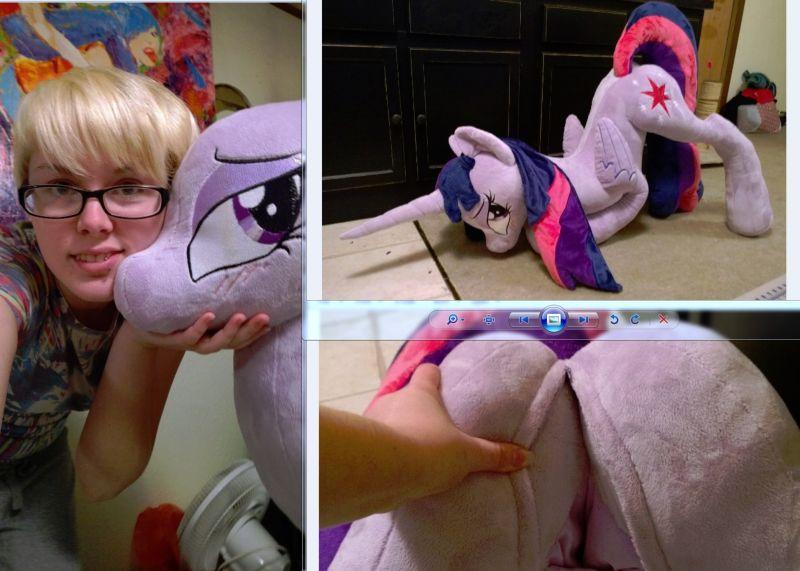 Плюшевые игрушки взрослых фанатов «My Little Pony»