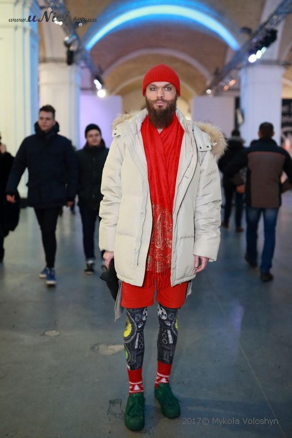 Гламурные посетители украинской недели моды