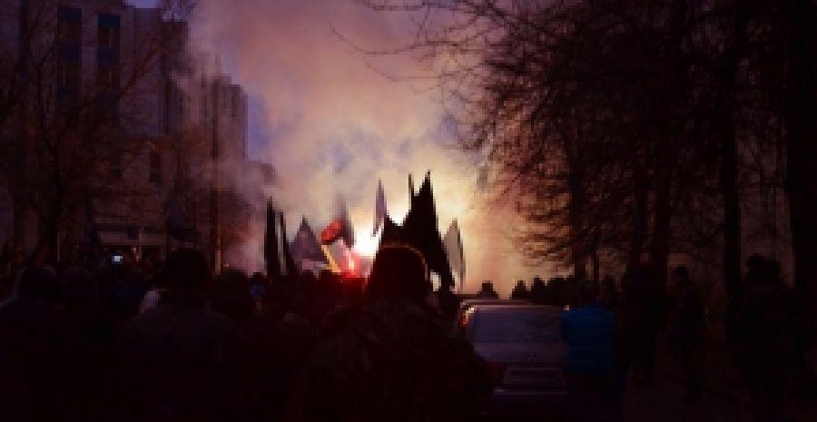 По украине прокатился марш за прекращение репрессий против патриотов
