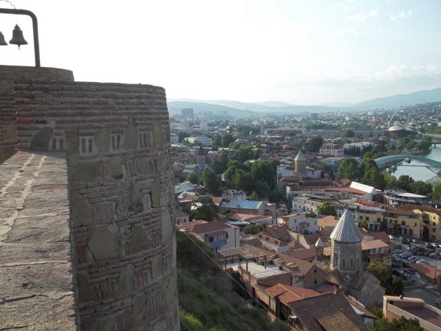 Древняя крепость НАРИКАЛА в Тбилиси (1)