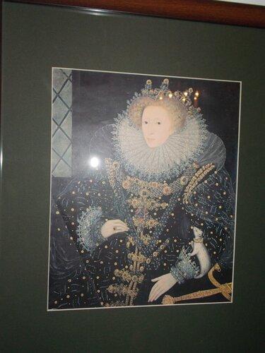 королева Англии Елизавета I
