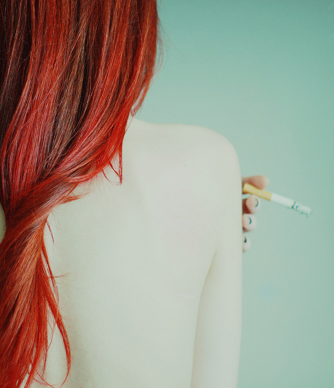 Red Hair by Fabrizia Milia