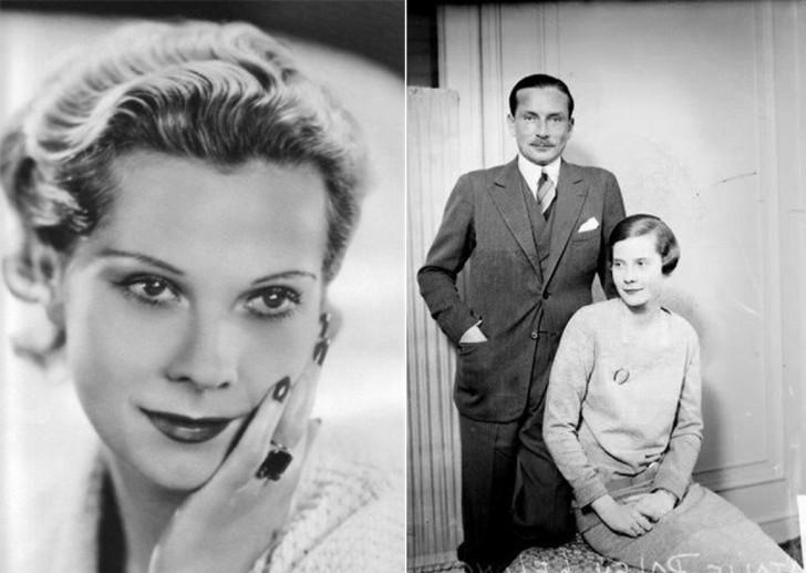 Натали Палей с мужем Люсьеном Лелонгом.