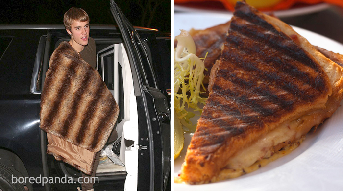 Джастин Бибер или бутерброд панини?