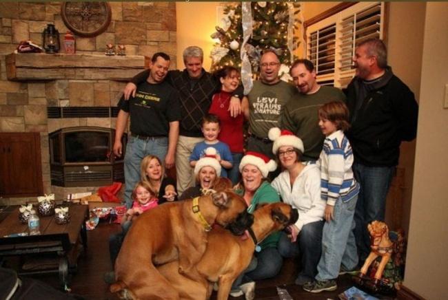 Нуочень любвеобильное семейство