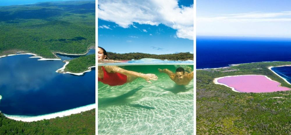 Озеро Маккензи— красивейшее пресноводное озеро Австралии, одно изчистейших вмире. Наего белоснеж