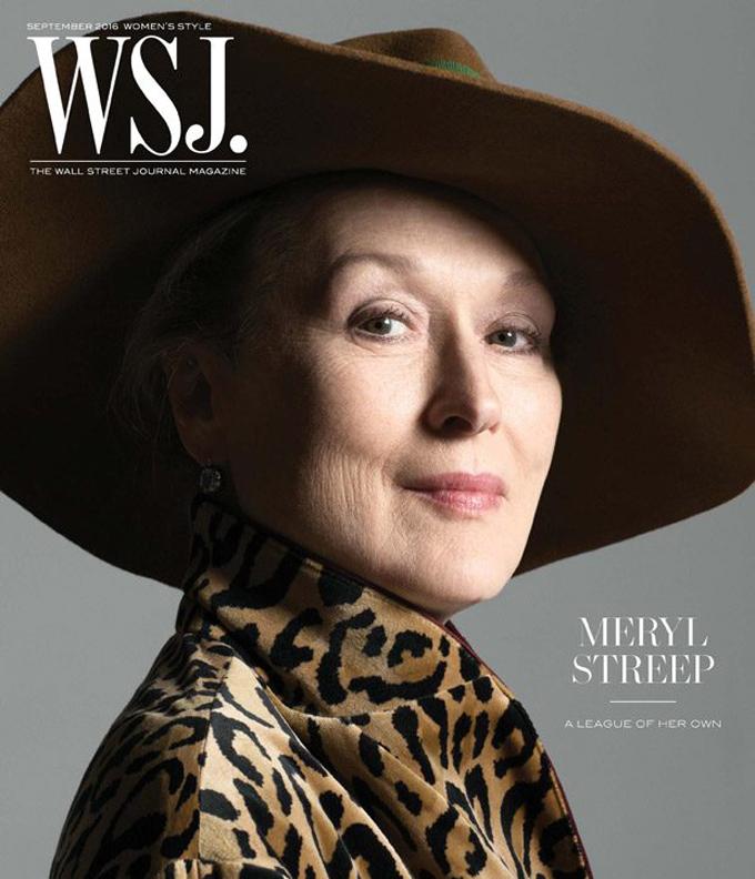 Мерил Стрип на обложке WSJ. Magazine