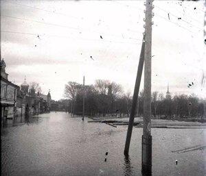 Наводнение в Рыбинске