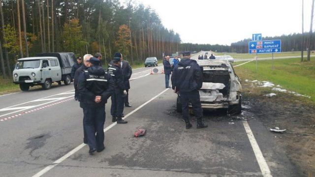 ВБерезино отыскали труп предпринимателя всожженном авто