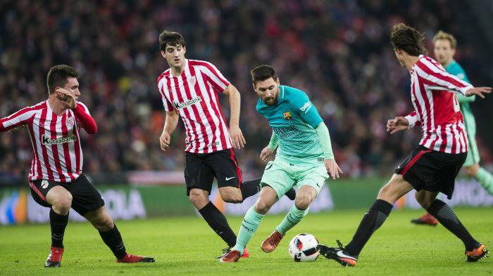 Поразительный гол Месси вывел «Барселону» вчетвертьфинал Кубка Испании