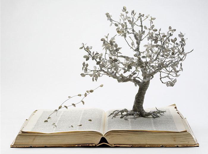 Су Блэквуэлл: британская художница, которая превращает книги в сказочные пейзажи