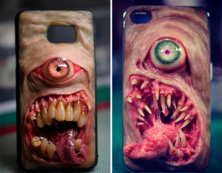 Mutations - Disturbing and far too realistic cases for your smartphone