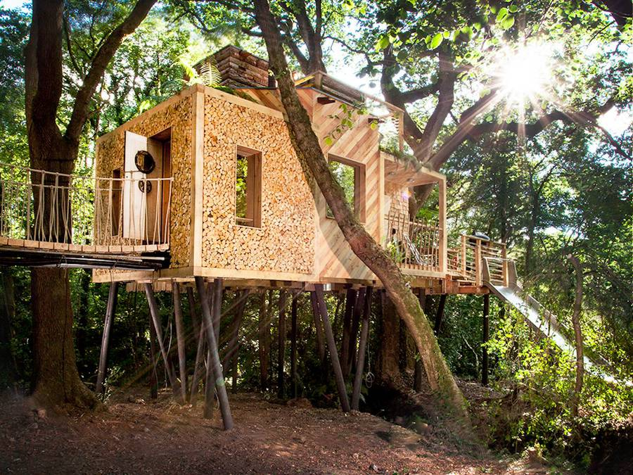Cosy and Luxury Treehouse in England (8 pics)