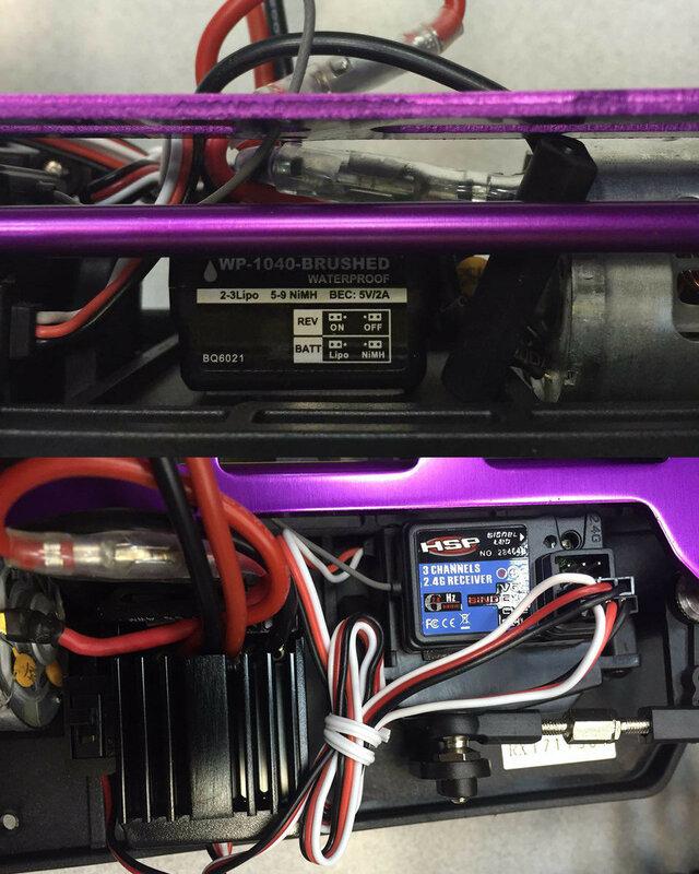новый HSP ESC 94111
