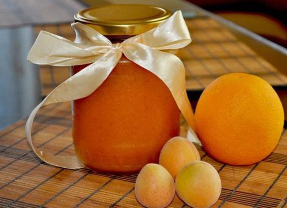варенье абрикоса с апельсинами