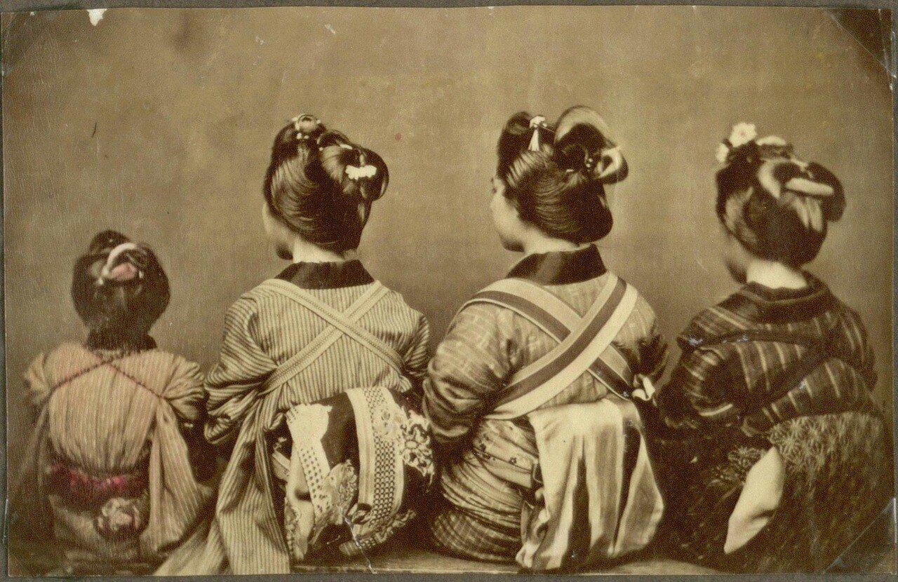Различные способы завязывания оби (пояса кимоно)