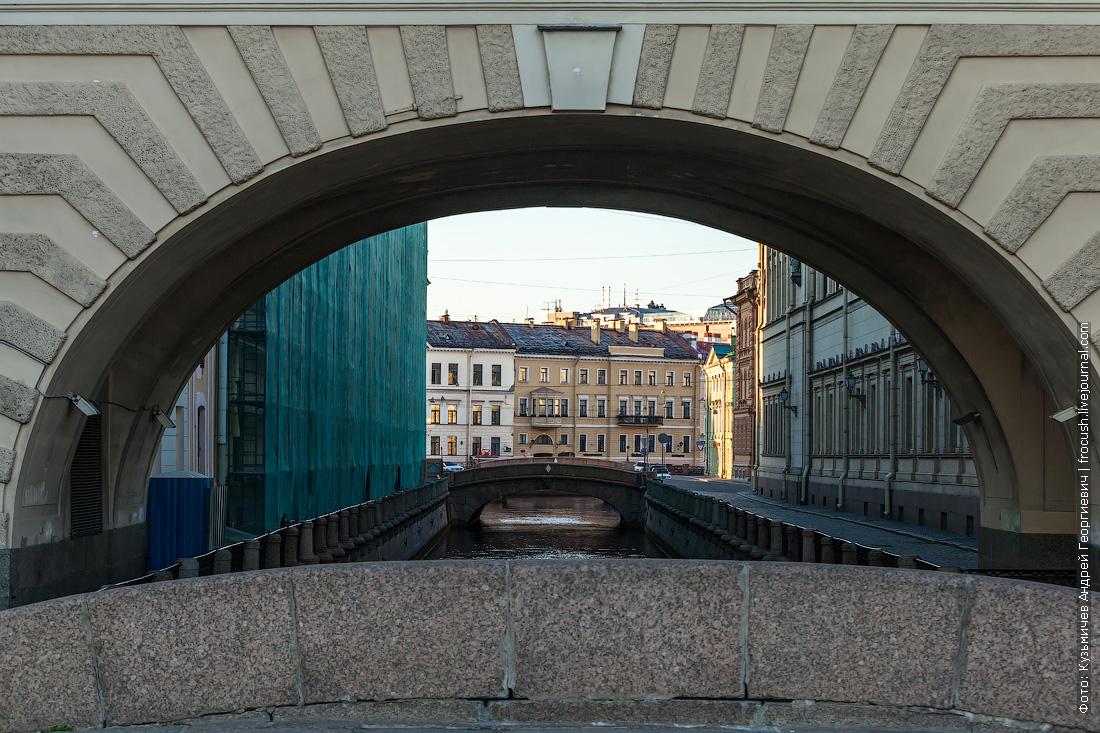 Санкт-Петербург Зимняя канавка