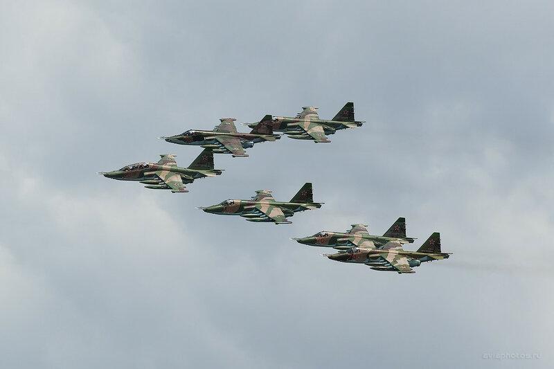 Сухой Су-25 ВКС России D803244