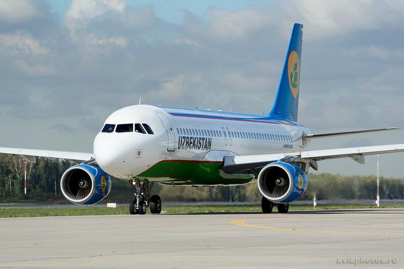 Airbus A320-214 (UK-32020) Uzbekistan 147_D801184