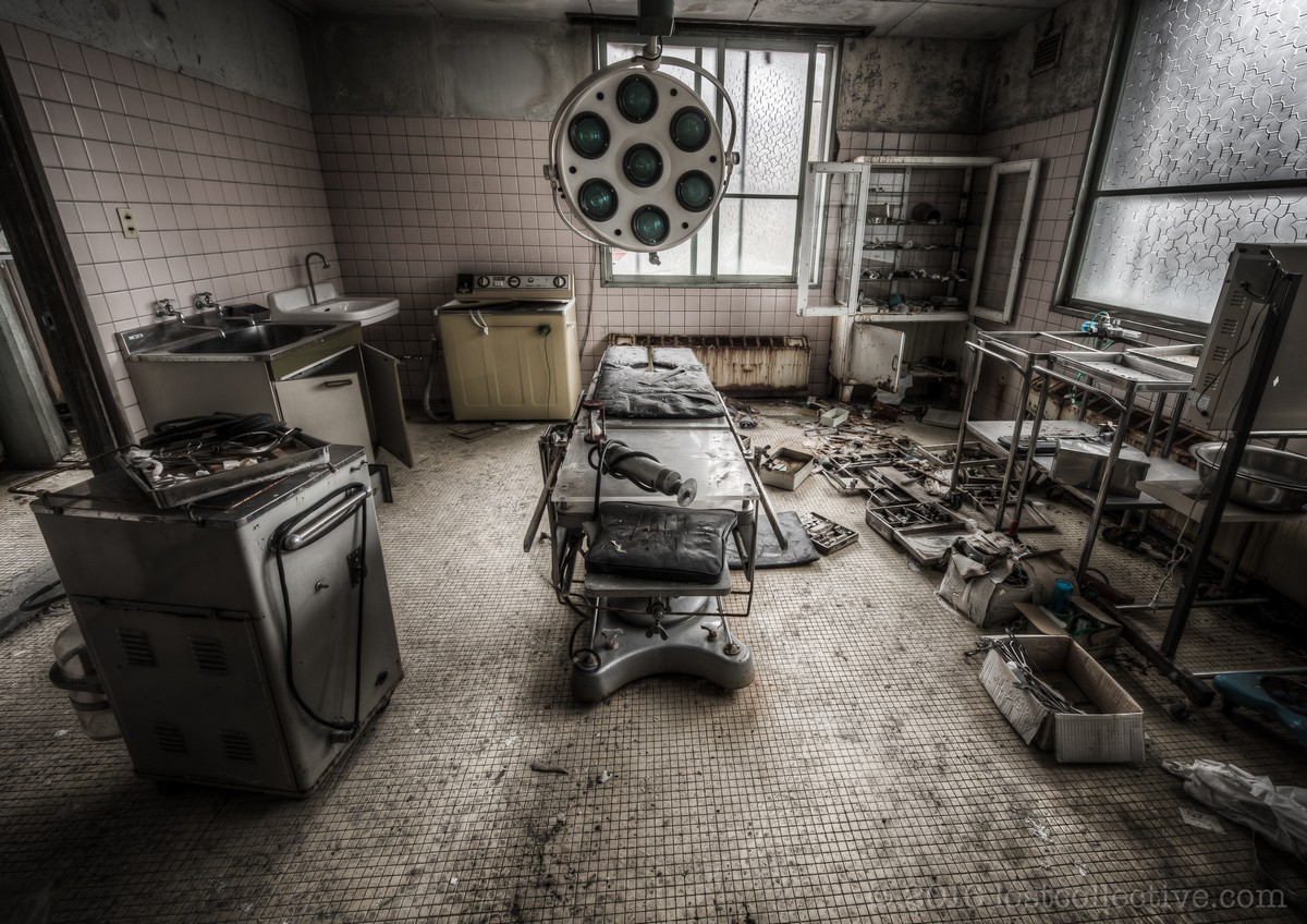 Заброшенная больница в Японии