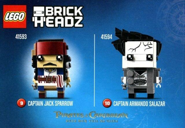 LEGO BrickHeadz.
