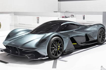 Aston Martin создал гиперкар AM-RB