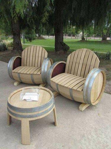 Стильная мебель не из стильных вещей
