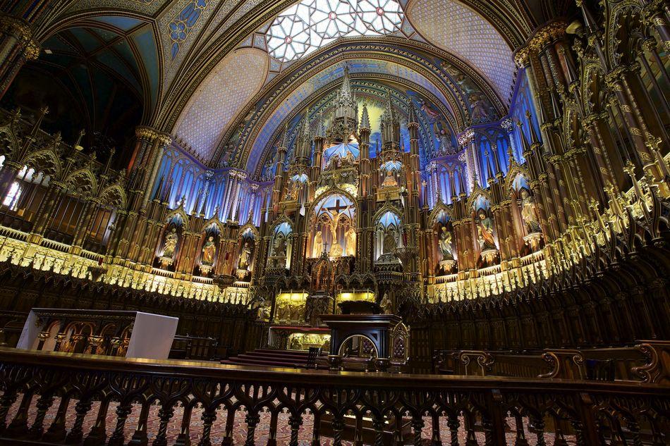 Интерьер Церкви Храмы Соборы Религия