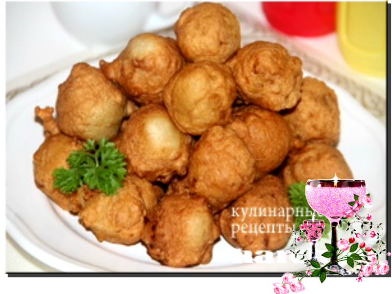 Рецепты пончиков с мясом