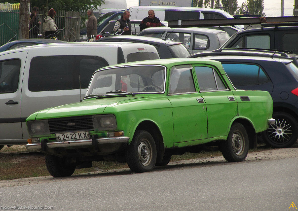 Москвич 2140 (facelift 1982-1987)