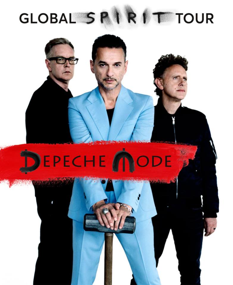 Depeche Mode - The global spirit tour