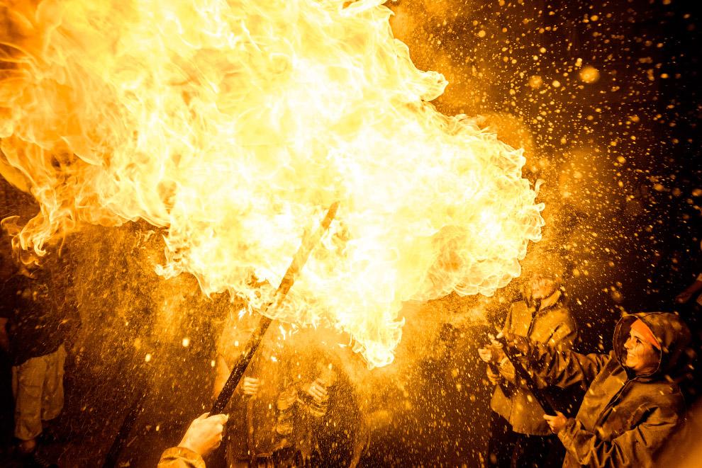 6. Ситжес, праздник Санта-Текла, Испания, 19 сентября 2016. (Фото Matthias Oesterle):