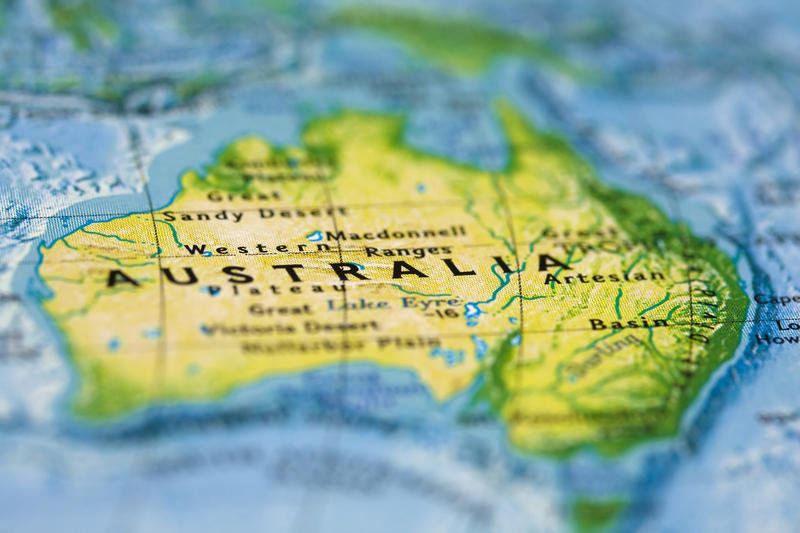 Австралия — страна верблюдов  Верблюды были завезеныв Австралию в 1866году в количестве 100гол