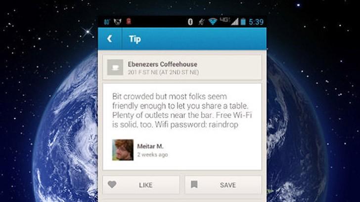 30. WiFi-пароли различных учреждений можно найти в комментариях FourSquare.