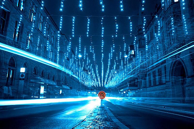 2. Голубая улица.