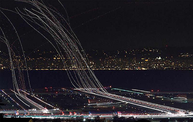 10. Аэропорт Сан-Франциско .