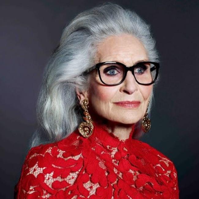 Дафна Селф, 86 лет Модельная карьера Дафны началась в 20 лет, но она оставила ее, когда стала матерь
