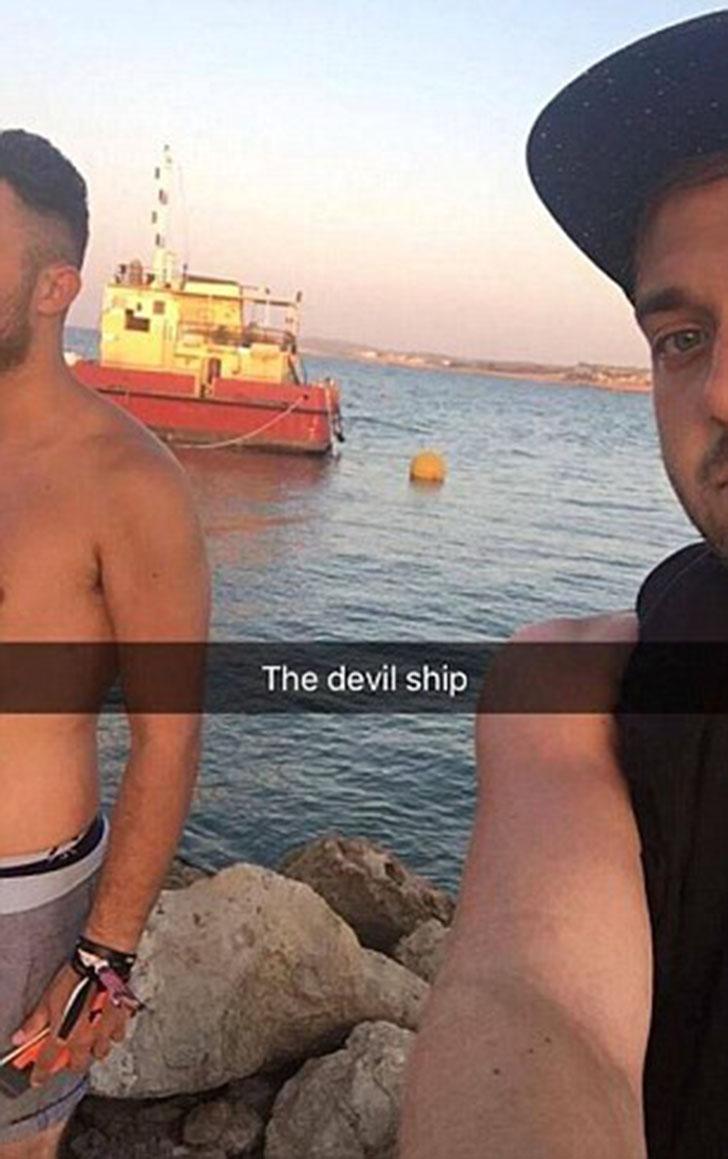 «Дьявольское судно». Поняв, в какой непростой ситуации они оказались, они впали в панику, рассказыва