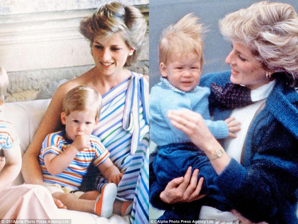 Принц Гарри проводил много времени с матерью, которая погибла, когда ему было всего 12.