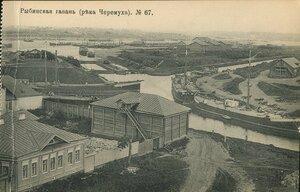 Рыбинская гавань (река Черемуха)