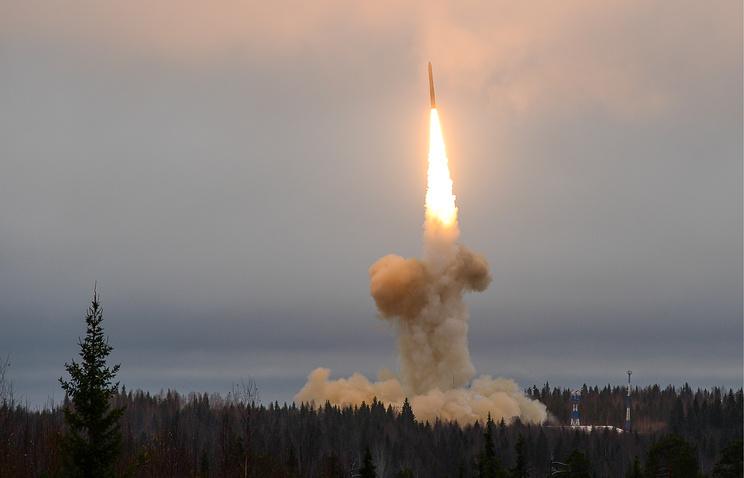 Минобороны объявило обуспешном запуске скосмодрома Плесецк ракеты «Тополь»