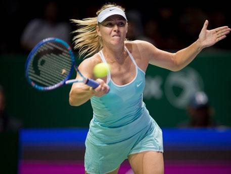 Именитая русская теннисистка Шарапова впервый раз задевять месяцев приняла участие втурнире