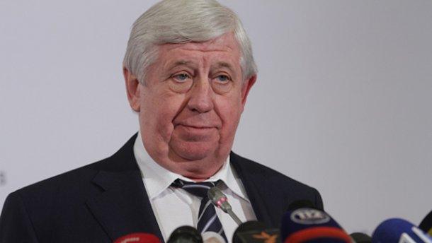 Прошлый генеральный прокурор Украины Шокин находится при смерти