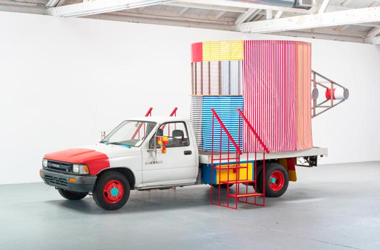 Peter Shire, Mr. Truck Goes to Coffee, or This One's For You, 1979