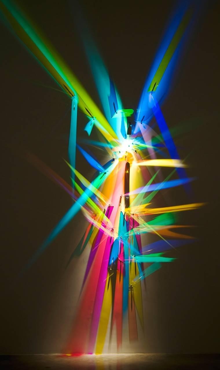 Light Sculpture - The stunning light creations of Stephen Knapp